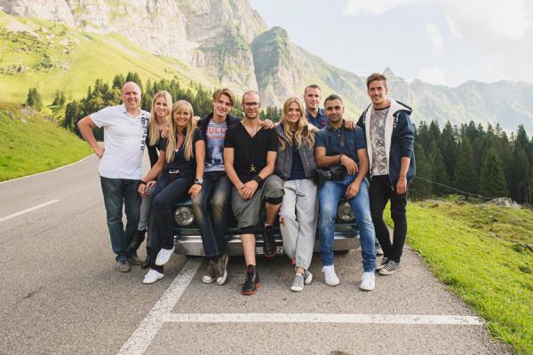 Some BTS from Switzerland