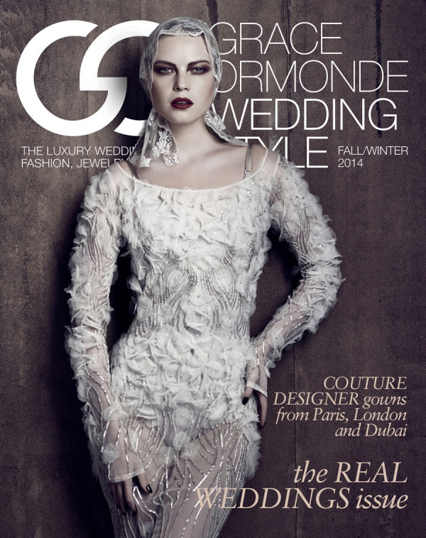Grace Ormonde | Wedding Style magazine cover shoot