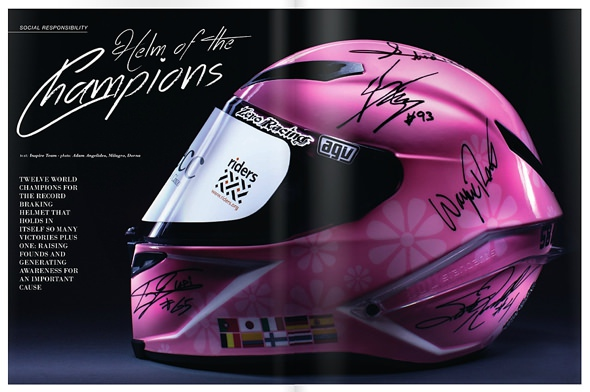 Stop Cancer Charity Helmet